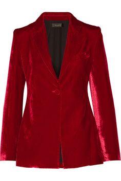 Ellery   Evil Eye velvet blazer   NET-A-PORTER.COM