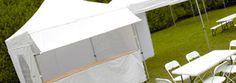 Tente de réception pliante pour les professionnels et collectivités, organisation d'événements et fêtes. Parasol, Lobby Furniture, Organization, Chair