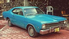Mexican 1974 Plymouth Valiant Duster.
