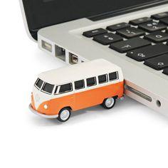 USB stick met Volkswagen camper :-)