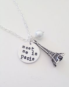 Meet Me in Paris Necklace $16.00  and tons more options for the cutest jewelry :) perfect for Christmas