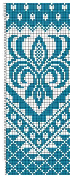 Only the diagram is available - could be adapted for bags, throws, etc. Tapestry Crochet Patterns, Loom Patterns, Beading Patterns, Knitting Charts, Knitting Patterns, Cross Stitch Charts, Cross Stitch Patterns, Mochila Crochet, Fair Isles