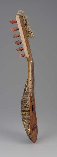 Lute (charango) 1900–25 Object Place: Peru