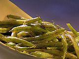 blackened green beans