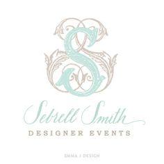 Sebrell Smith Designer Events Logo by Emma J Design