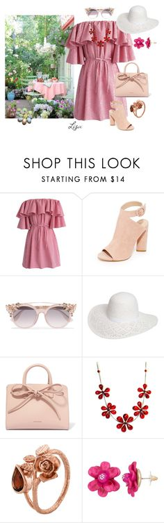 """Easter Brunch"" by coolmommy44 ❤ liked on Polyvore featuring Chicwish, Kendall + Kylie, Jimmy Choo, Dorothy Perkins, Mansur Gavriel and Alex Monroe"