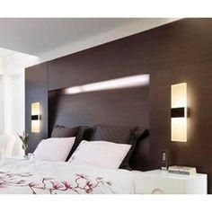 6W Applique Murale interieur LED Moderne Designe Créatif Acrylique LED en Aluminium lampe Murale,Blanc Chaud