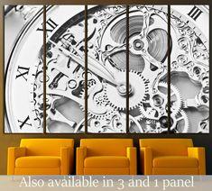 Beautiful Clockwork №221 Framed Canvas Print Canvas Print | Zellart Canvas Arts