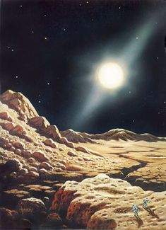 Our Dreams of Space Are Fueled by the Art of David A. Hardy - Motherboard