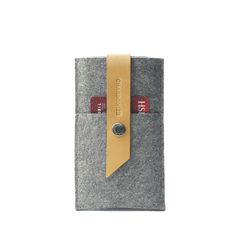Leather + Wool felt iPhone 6 Wallet http://www.charbonize.com/#!--for-iphone-/c17f3