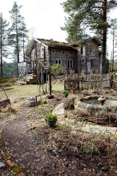 250 Year Old Farm House In The Norwegian Woods abandoned