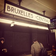 Gare de Bruxelles-Central / Station Brussel-Centraal i Brussel, Bruxelles-Capitale