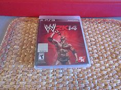 WWE 2K14 - Playstation 3 Pro Wrestling PS3 Video Game  factory sealed packaging