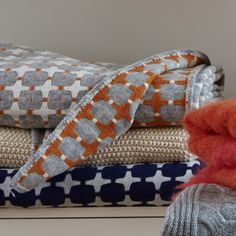 Throws & Blankets at Luma eco textiles - crafted with care