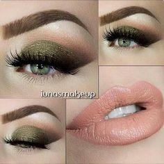 eyeshadow fir green eyes make up / eyeshadow fir green eyes . eyeshadow fir green eyes make up . eyeshadow looks fir green eyes Green Eyeshadow, Makeup For Green Eyes, Eyeshadow Looks, Eyeshadow Makeup, Simple Eyeshadow, Natural Eyeshadow, Matte Eyeshadow, Glitter Makeup, Matte Lipstick