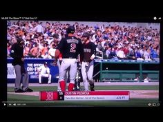 MLB® The Show™ 17 Red Sox 57 Pedroia, 421 ft [HR (1), 2 RBI]