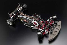 Yokomo DRIFT PACKAGE DIB ver.2 Red Version Chassis kit