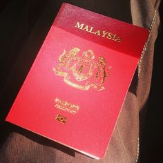 #malaysia #passport #travel #holidays