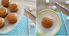 Muffins de dulce de leche