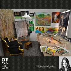 Ambiente arquiteta Michele Moncks para o Desafio Império Persa - Tapete Moderno. #desafioimperiopersa Painting, Contemporary Carpet, Challenges, Environment, Log Projects, Arquitetura, Persian, Painting Art, Paintings