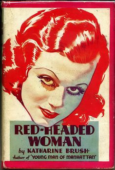 Red-Headed Woman - tie-in book for 1932 Jean Harlow Movie