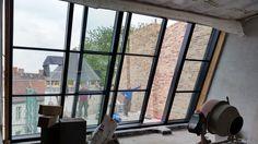 www. Roof Balcony, Balcony Curtains, Pergola With Roof, Wooden Pergola, Loft Conversion Design, Attic Loft, Getaway Cabins, Pet Water Fountain, Roof Window