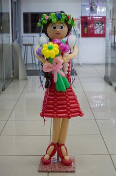Типичный аэродизайнер Balloon Flowers, Balloon Arch, Balloons, Balloon Crafts, Balloon Decorations, Balloon Modelling, Balloon Arrangements, Balloon Animals, Girl Decor