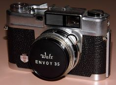 Vintage Walz Envoy 35, A 35mm Rangefinder Camera By The Japanese Company Walz, Circa Late 1950s.