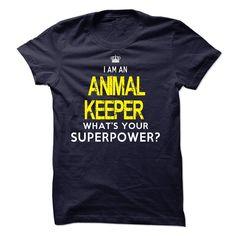 Im A/AN ANIMAL KEEPER T SHIRT