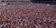 Soldier Field is rockin' for the #USAvBEL viewing party. #OneNationOneTeam pic.twitter.com/KC4QtCy3FR