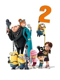 Despicable me 2 wasn't nearly as good as the first!! Kyle liked it!!