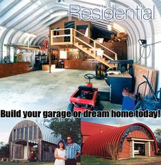 1000 images about quonset huts on pinterest home plans for Metal building house conversion
