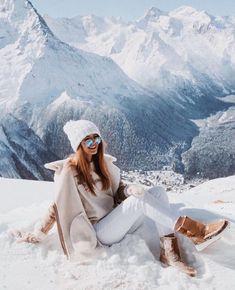 Winter chic – 2020 World Travel Populler Travel Country Winter Chic, Winter Style, Summer Chic, Winter Ootd, Snow Style, Autumn Style, Autumn Fall, Mode Au Ski, Ski Et Snowboard