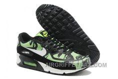 hot sale online 71773 37d2d New Arrival Soldes Endroit Le Moins Cher D acheter Nike Air Max 90 Premium  Tape Camo Homme Vert Blanche Noir Chaussures Pas Cher