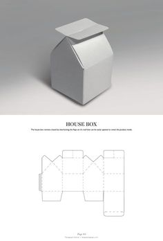 House Box - Packaging & Dielines: The Designer's Book of Packaging Dielines