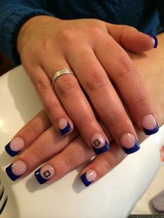 #Blue Nails!
