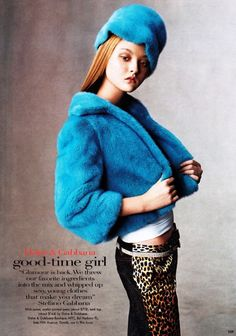 US Vogue July 1999.