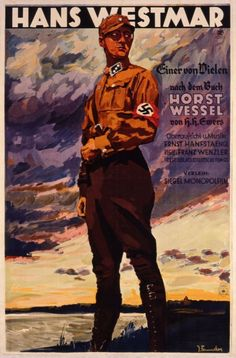 Hans Westmar / Einer von Vielen - Filmplakat zu einem nationalsozialistischen Propagandafilm