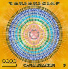 """Universo Espiritual Compartiendo Luz: Código del Cuerpo de Luz Merkaba número 9, """"Canali..."""