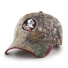 820d3b68589e0  47 Adults  Florida State University Realtree Frost MVP Cap Florida State  University