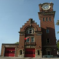 Toronto Fire Station 227 - open house for Open Doors
