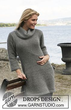 "Ravelry: 109-39 Dress in ""Alpaca"" and ""Kid-Silk"" pattern by DROPS design"