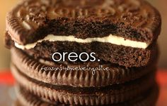 reasons to love being alive Yes, I posted Oreos twice.