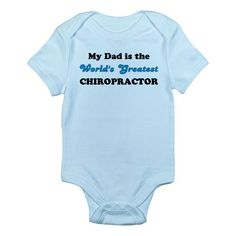 My dad is the World's greatest chiropractor :D Chris will love this!