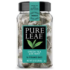 Green Tea with Mint   Tea Bags   Pure Leaf- I THINK I WOULD REALLY LIKE THIS ONE