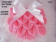 Nena CROCHET patrones pañal Cover 416 puntada de por Hectanooga, $4,99