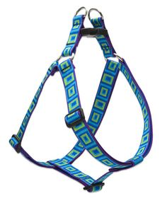 "Large Dog Designer Patterns Step In Harness ! with Lupine Pet's ""Even if Chewed"" Guarantee!"