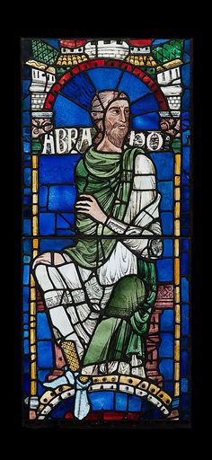 Abraham, from the Canterbury Cathedral.