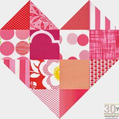 How to: Romance Quilt Block - 30 Days of Sewing Quilt Blocks
