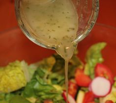 ITALIAN SALAD DRESSING secret ingredient: grated cheeses. TIP: try blending it with just a splash of Cream GET THE RECIPE HERE:http://doreenskitchen.com/SaladDressing.html   CHECK OUT:CD Cookbook over 350 pages with BONUS Magic Pan Crepe Recipes   http://doreenskitchen.com/